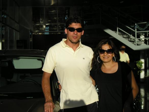 A disfrutar en familia Gustavo y Sandra!