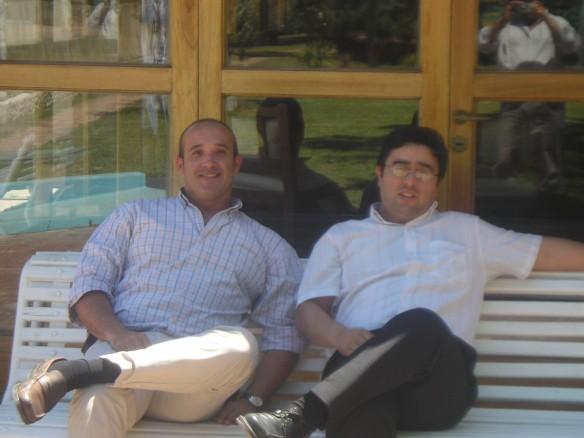 Gustavo Garcia y Javier Camargo de Pedro Corradi S.A.
