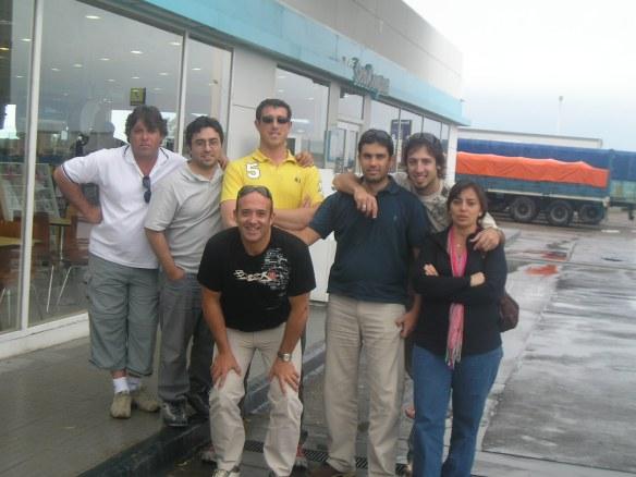 Volviendo a Casa. Daniel, Javier, José, German, Sebastian, Marcela y Gustavo de Pedro Corradi S.A.