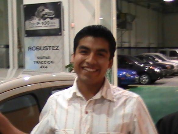Gustavo Suarez y su primer 0Km! Felicitaciones.