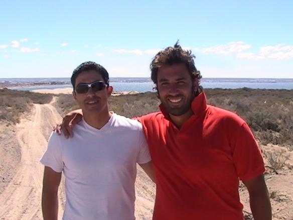 Julio Vazquez y Maximiliano Morrison