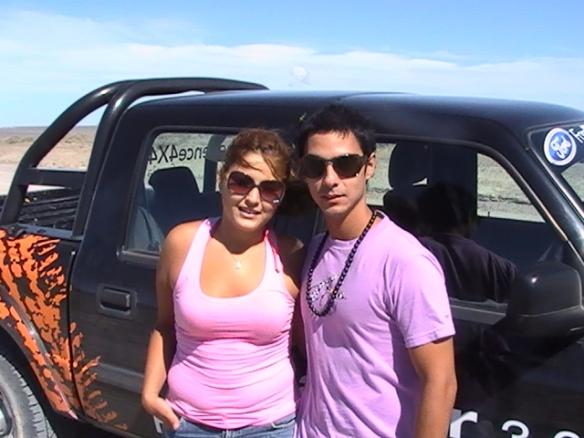 Julia  y Maximiliano de Puerto Madryn