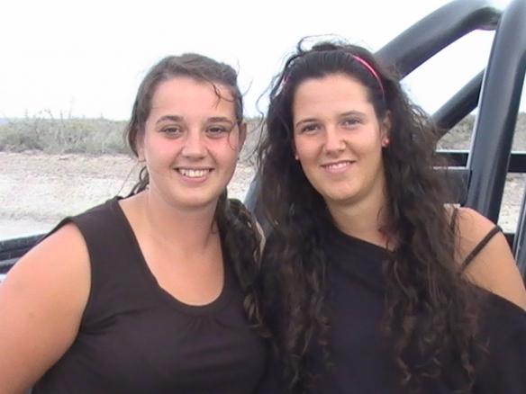 Laura Rowe y Maia Richotti de Bahia Blanca