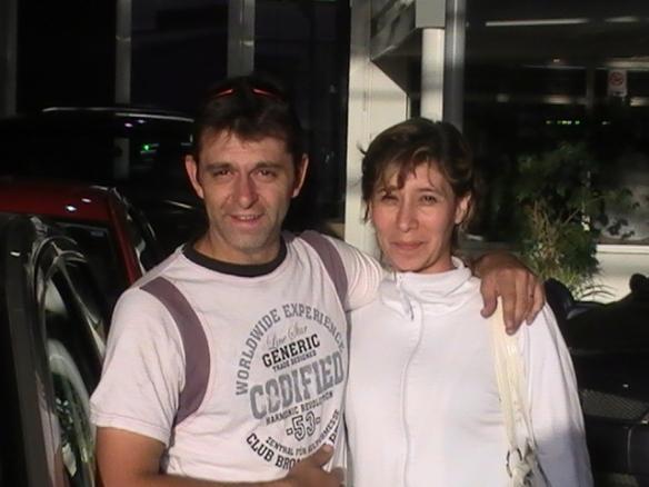 Ines caceres y su esposo Marcos con su For Fiesta max 0Km