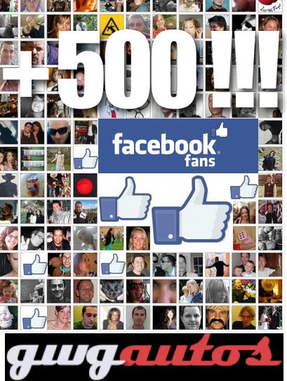 500 fans fb